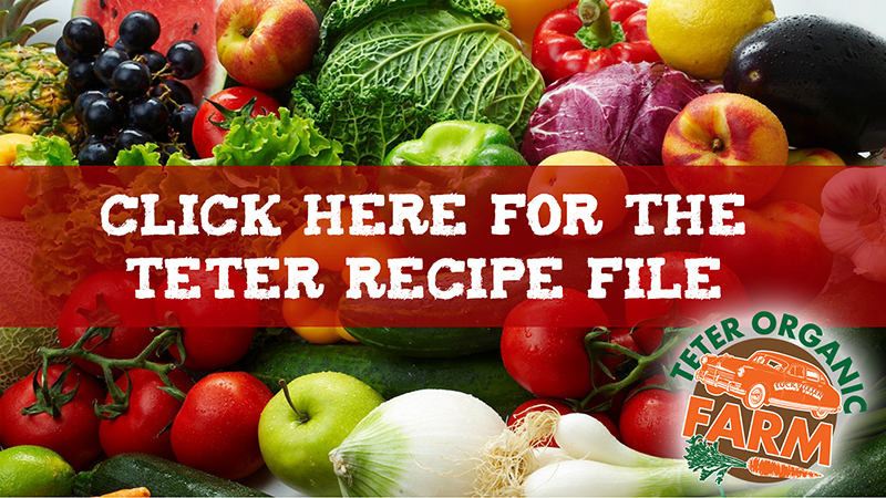 Teter Recipes | web
